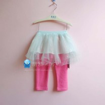 trousers Yingzifang female rose red spring and autumn trousers lady No model Leggings Pure cotton (100% content) Open crotch Cotton 100% Class A 12 months, 6 months, 9 months, 18 months, 2 years old, 3 years old, 4 years old, 5 years old