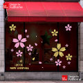 Wall stickers PVC Small, big Flat wall sticker Waterproof wall sticker Zhang 1 tablet Plants and flowers Simple and modern FullHome