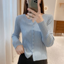 Wool knitwear Spring 2021 Average size Black, blue, apricot, off white, orange, pink Long sleeves singleton  Cardigan other 30% and below Regular routine commute Straight cylinder routine Solid color Single breasted Korean version M2029 25-29 years old IMFLY