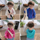 T-shirt Blue, green, pink, purple, beige Other / other 90cm,100cm,110cm,120cm,130cm male spring and autumn leisure time There are models in the real shooting p8688 2 years old, 3 years old, 4 years old, 5 years old, 6 years old, 7 years old