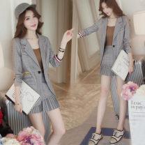Fashion suit Autumn 2020 S,M,L,XL grey
