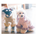 Pet clothing / raincoat Dog Dress S,M,L Touchdog leisure time Yellow, green, pink