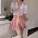 Fashion suit Summer 2021 S. M, l, average size Colorful tie, shirt, skirt 18-25 years old 4.9A