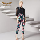 Casual pants S,M,L,XL Spring 2020 trousers Jumpsuit Natural waist original routine 25-29 years old Creative Fox