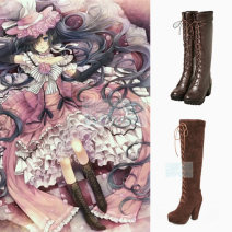 Cosplay accessories Shoes / boots goods in stock Cartoon characters Black deacon The shire Size 34