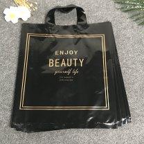 Gift bag / plastic bag Dark gray, white, pink, flower color, rose red, black, transparent rose 50 / pack Extra large 45 * 50 + 8