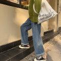 Women's large Summer 2020, spring 2020, winter 2020, autumn 2020 Denim blue S (recommendation 80-95), m (recommendation 95-110), l (recommendation 110-130), XL (recommendation 130-150), 2XL (recommendation 150-170), 3XL (recommendation 170-190), 4XL (recommendation 190-210) Jeans singleton  commute
