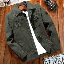 Jacket Jeep chariot / Jeep Chariot Fashion City Khaki black blue army green M L XL XXL XXXL XXXXL 5XL 6XL easy Other leisure Cotton 100% Long sleeves Lapel washing Autumn of 2018