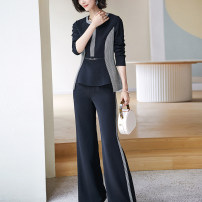 Fashion suit Spring 2021 S M L XL XXL Black (in stock) Xinyuquan New polyester fiber 88% polyurethane elastic fiber (spandex) 12%