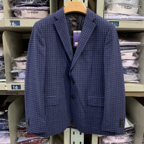 man 's suit 85 royal blue Goldlion / Jinlilai Business gentleman routine MZD17161016-85 standard Double breasted Other leisure No slits