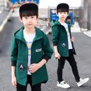 Plain coat Other / other male spring and autumn Korean version Zipper shirt There are models in the real shooting routine No detachable cap other chemical fiber Crew neck Polyester 100% Class B