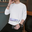 Sweater Youth fashion Others White, black, yellow M. L, s, XL, 2XL, 3XL, 4XL, 5XL, XS plus small Solid color Socket routine Crew neck easy like a breath of fresh air routine Polyester 100%