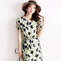 Professional dress suit S,M,L,XL printing Summer 2021 Short sleeve RLYQ60211 other Over 35 years old JOLIMENT 96% and above polyester fiber