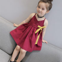 Dress As shown in the figure female Other / other 90 = 7, 100 = 9, 110 = 11, 120 = 13, 130 = 15 Other 100% summer lady Skirt / vest Solid color Lotus leaf edge Class B 2 years old, 3 years old, 4 years old, 5 years old, 6 years old, 7 years old, 8 years old Chinese Mainland