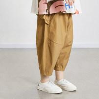 trousers Other / other neutral 90cm,100cm,110cm,120cm,130cm,140cm,150cm Khaki, grey, denim, dark blue No season Ninth pants Korean version There are models in the real shooting Casual pants Leather belt middle-waisted cotton Don't open the crotch Cotton 100% Class B 7, 8, 3, 6, 11, 5, 4, 10, 9, 12