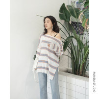Wool knitwear Average code Fall of 2018 White spot black spot apricot spot Long sleeve Sleeve Conventional models Single conventional Commuting Loose