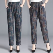 Casual pants Decor 1 (thin style) is sold out, decor 2 (thin style) is sold out, decor 1 (plush style), decor 2 (plush style), thin style is sold out, please do not place an order, color 1 (plush style), color 2 (plush style), color 3 (plush style) Winter 2020 trousers Straight pants High waist NGGGN