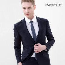 man 's suit Business gentleman dark blue Basique / Yuanben routine XXL six point zero zero zero six Wool 60% polyester 40% Fall 2017
