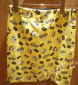 skirt Summer 2014 yellow Short skirt Sweet skirt Cartoon animation 25-29 years old 71% (inclusive) - 80% (inclusive) brocade cotton