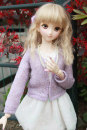 BJD doll zone suit 1/3 Over 14 years old Customized Violet sweater Three, DD, four Other / other DOLL