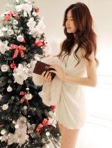 Dress Spring 2021 Black (8014), off white (8014), 201 (black) M,L,XL Short skirt Sleeveless commute 18-24 years old Korean version