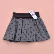 skirt grey Other / other female Cotton 100% spring and autumn Dot Pure cotton (100% cotton content) Class A