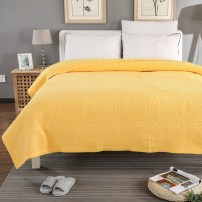 Bed cover cotton Other / other 150cmx200cm 200cmx230cm Solid color Yellow bed cover lake blue bed cover fruit green bed cover naked powder bed cover purple bed cover rose red bed cover lake green bed cover green bed cover light powder bed cover Ben white bed cover Superior products