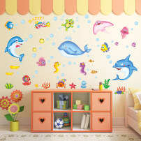 Wall stickers PVC large Flat wall sticker Waterproof wall sticker Zhang Children's room 1 tablet Cartoon animation Simple and modern What about it What about the ocean
