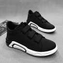 High shoes cotton A variety of materials stitching 39 40 41 42 43 44 cotton Elastic band Other / other Round head black Youth trend Thick bottom Pure color Sports and leisure Youth (18-40 years old) Middle heel (3-5cm) winter damping Two-layer pigskin D1006-B Europe and America