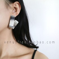Ear Studs Alloy / silver / gold 51-100 yuan Other / other Gold and silver