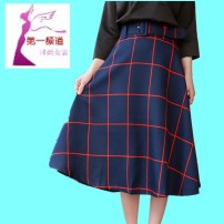 skirt Spring 2020 S, M Tibetan plaid, black and white plaid Mid length dress Versatile High waist A-line skirt lattice Type A 25-29 years old 31% (inclusive) - 50% (inclusive) other polyester fiber Pleats, zippers 161g / m ^ 2 (including) - 180g / m ^ 2 (including)