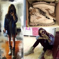 Boots Oversized sneakers one size 35 36 37 38 39 40 41 42 43 44 Denim Other / other Low heel (1-3cm) Flat heel Cattle suede (frosted) Middle cylinder Round head Artificial short plush Artificial short plush Winter 2016 Anterior frenulum leisure time TPR (tendon) Solid color Martin boots winter ZS988N