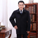 woolen coat Black grey 175/88A,180/92A,185/96A,190/100A,195 Others Business gentleman Woolen cloth have more cash than can be accounted for Other leisure easy old age Lapel Single breasted Business Casual Solid color Straight hem winter wool 30% (inclusive) - 49% (inclusive)