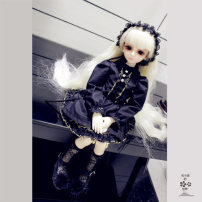 BJD doll zone suit other Over 3 years old goods in stock Black Lace Princess Dress 6 points / yosd, 4 points / MSD, 3 points / DD for female Blanche's colorful world