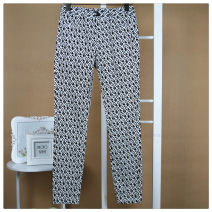 Casual pants black and white XS,S
