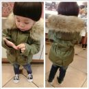 Cotton padded jacket neutral No detachable cap other Love dream bear Army green The recommended height is about 80cm for Size 90, 90cm for size 100, 100cm for Size 110, 110cm for Size 120 and 120cm for Size 130 thickening Zipper shirt leisure time There are models in the real shooting Solid color