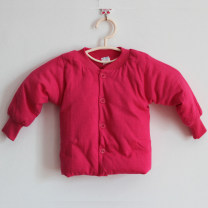 Cotton padded jacket neutral nothing other Other / other thickening Single breasted No model Solid color Pure cotton (100% cotton content) Cotton 100% 12 months, 18 months, 2 years old, 3 years old, 4 years old, 5 years old, 6 years old, 7 years old