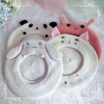 Hat other Different pupil cat panda jade dog hamster powder rabbit can be customized S(54-56cm) M(56-58cm) Other / other