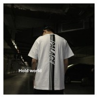 T-shirt Youth epidemic Other /other conventional S M L XL White black Loose daily Short sleeve summer Round neck