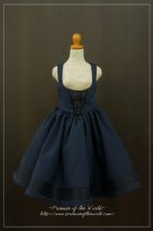BJD doll zone Dress 1/4 Over 14 years old Customized Dark blue, black Sd13 female, MSD, yosd, azone1 * 6S, DD s / m, DD L The young master and his Canaries