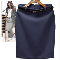 skirt Winter 2013 XS fine workmanship, s version is very good, M counter quality, l high quality and low price, XL fabric is crisp, XXL style is classic, XXL slim Middle-skirt commute Natural waist skirt Solid color A 108 51% (inclusive) - 70% (inclusive) Wool wool Korean version