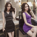 Dress Summer 2016 S,M,L singleton  V-neck routine 18-24 years old Type A Other / other Gauze