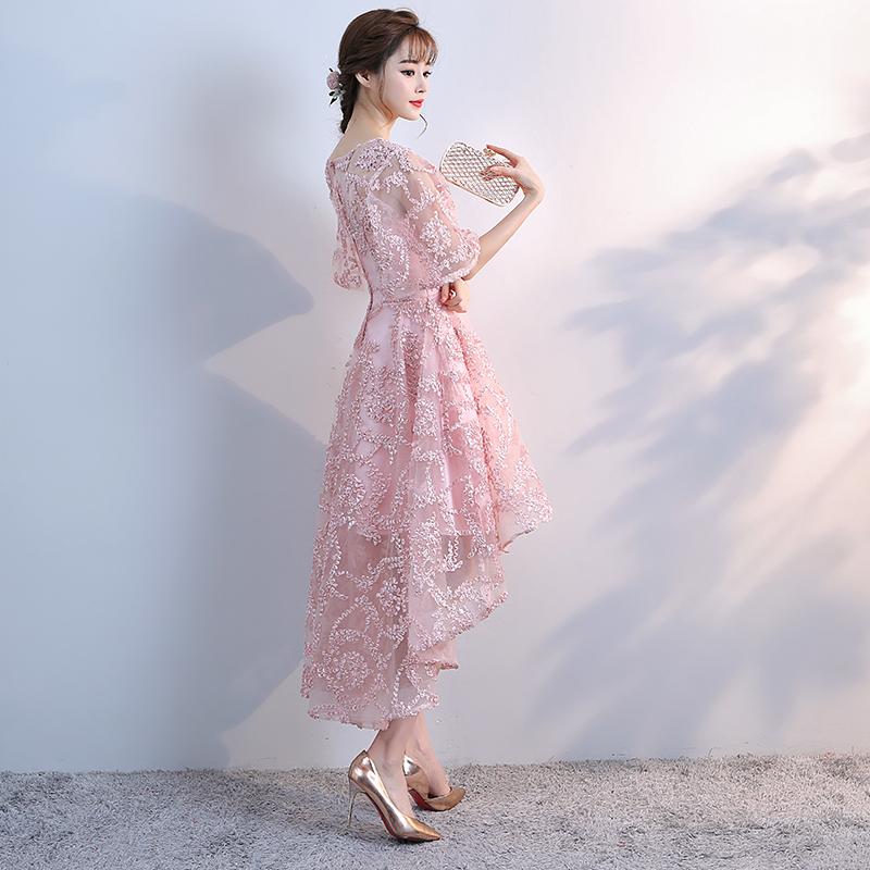 Dress / evening wear Ежедневное назначение праздничной вечеринки SMLXLXXLXXXL специально разработанная служба запросов клиентов Розовое шампанское