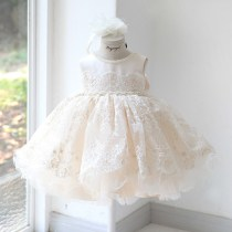 Children's dress Champagne female Customized size (contact customer service) 90cm 100cm 110cm 120cm 130cm AMY RUOQI full dress TZ18030323 Class B other Polyester 70% Cotton 30%