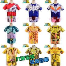 Cartoon T-shirt / Shoes / clothing T-shirt Over 14 years old Saint Seiya goods in stock Zilong (spot) Aries (spot) Taurus (spot) Gemini (spot) Average size Japan currency Manchuang genie Saint fighter T-shirt
