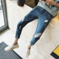 Jeans Fashion City Mafuti M blue routine Micro bomb Regular denim E-commerce a006 k603 Cotton 90% polyester 10% Summer 2017 Pure e-commerce (online only)