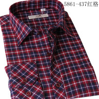 shirt Youth fashion Sanli 38,39,40,41,42,43,44 437,439 routine square neck Long sleeves standard motion Four seasons youth Cotton 67% others 33% Youthful vigor 2017 lattice Color woven fabric cotton Easy to wear 50% (inclusive) - 69% (inclusive)
