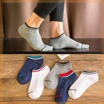 Socks / base socks / silk socks / leg socks male Other / other 5 pairs, buy one, get one free, a total of 10 10 pairs routine Boat socks summer Simplicity Cartoon animation cotton invisible Silicone antiskid F34-592