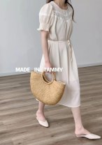 Dress Winter 2020 White, apricot, yellow One size fits all 51% (inclusive) - 70% (inclusive) other