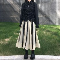 skirt Winter 2016 M. L, average size Top, skirt longuette other stripe 18-24 years old